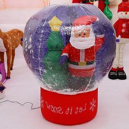 60cm/100cm Giant Santa Claus Christmas Tree <font><b>Snow</b