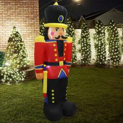 6Ft Airblown Inflatable Christmas Nutcracker Toy Soldier Xma