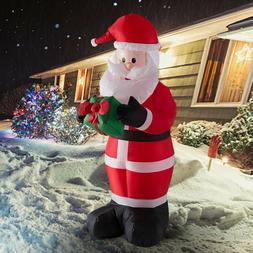 6ft Christmas Inflatable Santa Claus Air Blown Holiday Yard