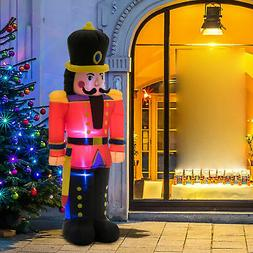 6FT Inflatable Christmas Jumbo Toy Soldier Holiday Outdoor Y