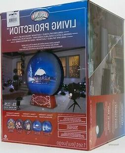 Gemmy 7.5 ft Holiday Christmas LightShow Living Projection S