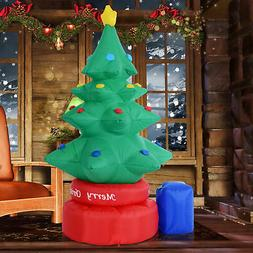 7FT Animated Rotating Inflatable Christmas Tree Lighted Xmas