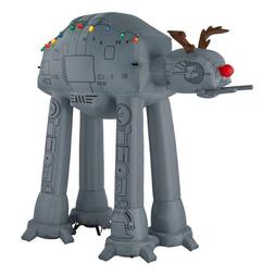 8.5 STAR WARS AT-AT REINDEER Airblown Lighted Yard Inflatabl