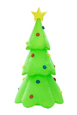 8.8ft Inflatable Christmas Tree Flash Lighted Mall Yard Deco