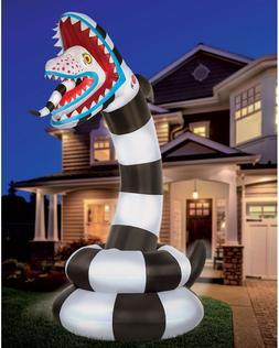 8.9 Ft Sandworm Inflatable Halloween Decoration - Beetlejuic