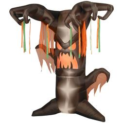 Gemmy 8' Animated Frightening Tree Halloween Airblown Inflat