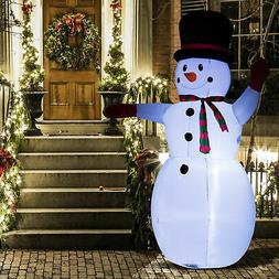 8' Inflatable Christmas Snowman Airblown Holiday Yard Outdoo