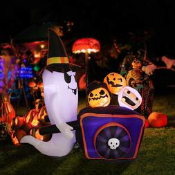 8' Lighted Inflatable Outdoor Halloween Yard Decor Haunted G