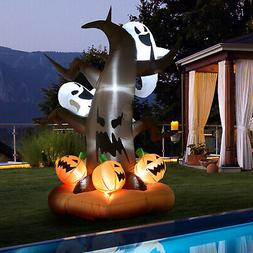 8' Lighted Inflatable Outdoor Halloween Yard Decoration - Ha
