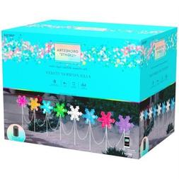 8 Gemmy Orchestra of Lights Multi-Function Color-Changing Sn