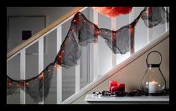 82815D ORANGE Light Halloween Garland FREE SHIPPING Home