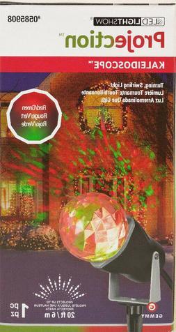 Gemmy Lightshow Projection- Kaleidoscope -Red/ Green