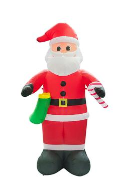 8FT Christmas Inflatable Santa Claus Lawn Event Yard Mall De