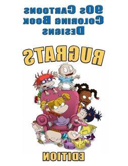 90s Cartoons Coloring Book Designs: 30+ RUGRATS Designs for