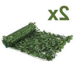 """94""""X39"""" Faux Ivy Privacy Fence Screen Artificial Hedge Fenci"""