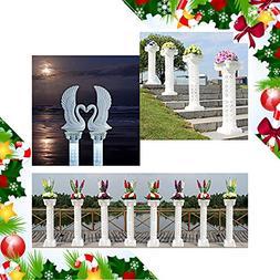 Adorox  Decorative Plastic Wedding Event Column Adjustable H