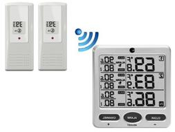 Ambient Weather WS-21 Wireless 8-Channel Thermometer with Tw