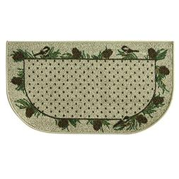 Bacova Guild Classic Berber Skid-Resistant Accent Rug, Chick