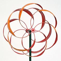 Bits and Pieces - Flower Wind Spinner - Magnificent 65 Inch