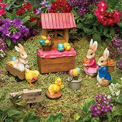 Bits and Pieces - Seven Piece  Easter Figurines Set - Holida