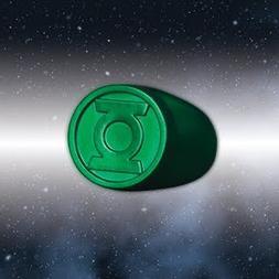 Blackest Night Green Lantern Ring Authentic DC Comics Plasti