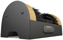 Boot Brush Cleaner Floor Mount Scraper Commercial With Hardw