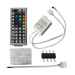 CO-RODE 12V IR Remote RGB Controller Box 44 Keys for 5050 RG