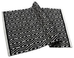 Chardin home 100% cotton Diamond Rug Fully reversible - Mat