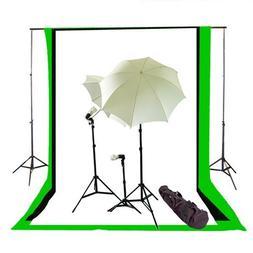 CowboyStudio Complete Photography/Video Studio Triple Lighti