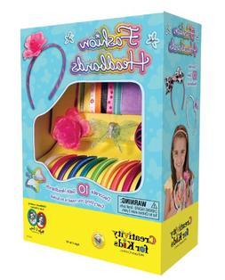 Creativity for Kids Fashion Headbands Craft Kit, Makes 10 Un