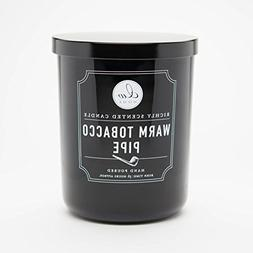 Decoware Richly Scented Warm Tobacco Pipe Candle 14.82 OzIn