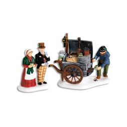 Department 56 Dickens' Village The Coffee Stall Building and