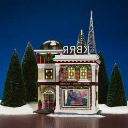 Department 56 Snow Village KBRR TV