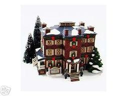 Dept 56 Snow Village Old Chelsea Mansion