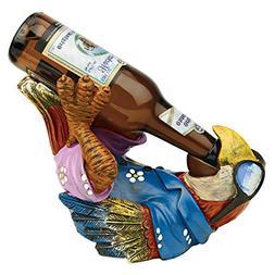 Design Toscano Beer Buddy Tiki Parrot Statue
