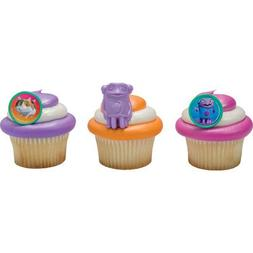 DreamWorks Home Oh & Pig Cupcake Rings - 24 pc