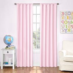 Eclipse Kids Microfiber Room Darkening Window Curtain Panel,