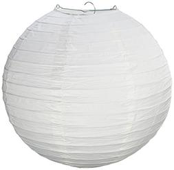 "Electronix Express 12"" White Paper Lantern Lamp Shades 12 Pa"