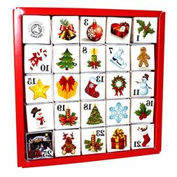 English Tea Shop - Advent Calendar - Christmas Ornaments - 5