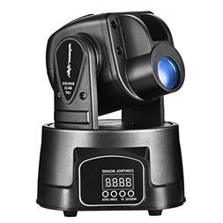 Eyourlife LED Lighting 15W Mini Moving Head Light Spot RGB 3