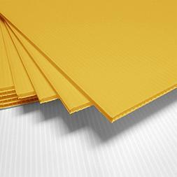 "Fantastic Displays 18"" x 24"" Blank Corrugated Plastic Sheets"