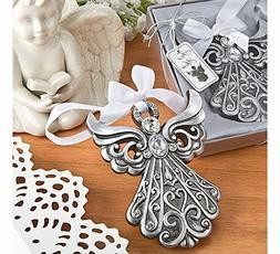Fashioncraft Antique Finish Shimmering Angel Ornament - 1
