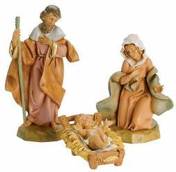 Fontanini by Roman Classic Holy Family Nativity Set, 3-Piece