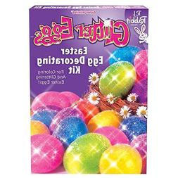 Fun World BB1754C Glitter Eggs Easter Egg Decorating Kit -Ea