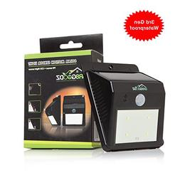 GR8 Goodz Summer Sale LED Motion Sensor Solar Light, Bright,