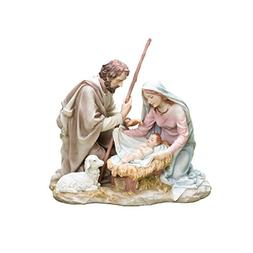 Galleria Divina Collection Holy Family Figure, 8.25-Inch