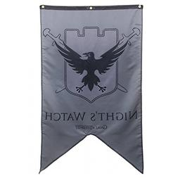 Game Of Thrones- Night's Watch Banner Fabric Poster 30 x 50i