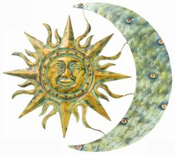 "Gardman 8415 Aztec Sun and Moon Wall Art, 26"" Long x 24"" Wid"