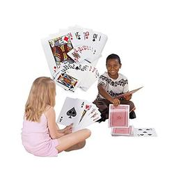 Giant Jumbo Deck of Big Playing Cards Fun Full Poker Game Se