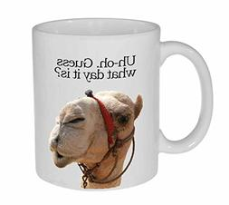 Guess What Day It Is Coffee or Tea Mug - Hump Day Funny Came